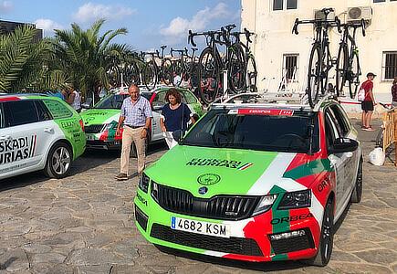 Vuelta - zákulisí závodu, Torrevieja Španělsko