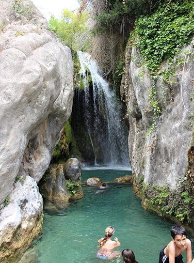 Vodopády Algar