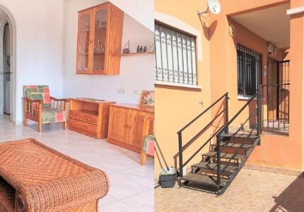 Prostorný apartmán  3+1 s předzahrádkou v urbanizaci s bazénem