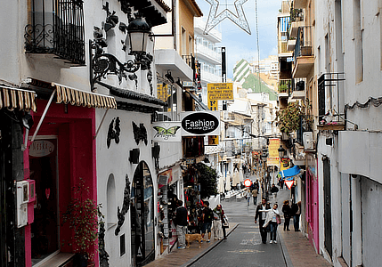 Benidorm, staré město
