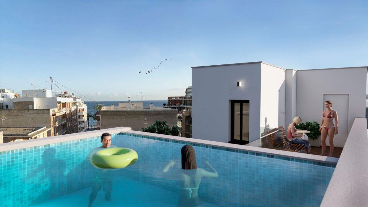 Byt u moře, Španělsko